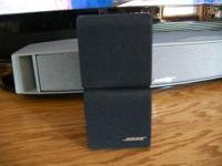 One Bose Redline Duel Cube Speaker. Asking $35.00 or