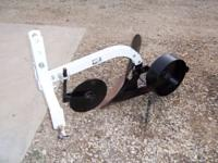 ONE-BOTTOM BRINLEY PLOW - $300 (ABILENE)