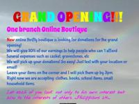 The One Branch Boutique was created to help as many
