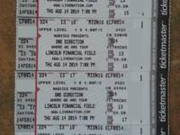 One Direction- Lincoln Financial Field - Thursday