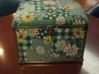 HERE IS A ONE OF A KIND HAND CONSTRUCTED-MINI-TRUNK