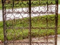 Exceptionally special, luxuriant wrought iron, 88