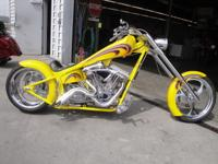 This is a one-of-a-kind, hand-built chopper by Arlen