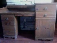 This is a distinct Antique Desk that has a total amount