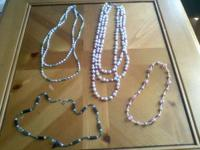 I have a few necklaces I purchased at a marketplace
