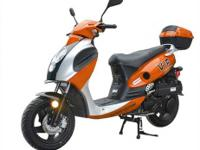 The ATM50-A1's 49cc 4-stroke, air cooled engine