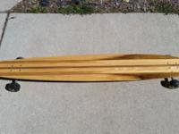 I began developing custom-made long boards about 11