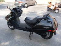 This 2001 One owner Honda Helix 250 has only 3087 miles
