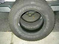 "I have one pair of 235/75/R15"" Goodyear Wrangler Radial"