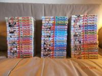 Selling 56 secondhand One Piece English Manga books.
