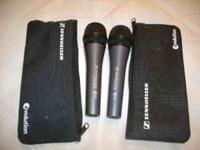 I have one Sennheiser E835 Mic they are new never used