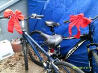 2 Mt. bikes for sale. One a female's bike (Cannondale)