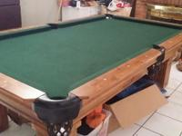 I have a 3-Piece Italian Slate Pool Table for sale for
