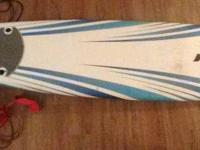 very good condition long (~8 foot) foam board for
