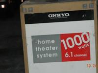 BRAND NEW 1000 WATT 6.1 ONKYO HOME THEATRE SURROUND