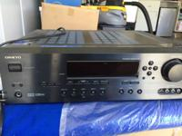 Onkyo 1000 watt received with Bass and additional