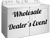 Washers, Dryers, Ovens, and Refrigerators for