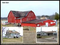 Online Auction - 40 Acre Farm, Home and Barns Location: