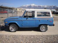 ONLY ONE OWNER!! Check out this classic SUV! 1972 Ford