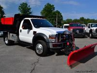 ONLY 27K MILES!! 2010 Ford F-550 'XLT' 4X4 Regular Cab