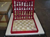 I have 200 sets of hand made Onyx Chess Sets with