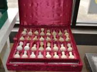 I have several Onyx Chess Sets for Sale! They are $100