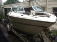 Classic 1982 Custom built 24' Open bow Webcraf. Coast