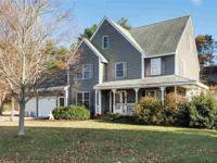 Fabulous three bedroom plus an in home office colonial