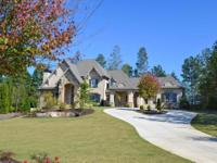 Gorgeous home with main level master suite, large his