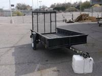 >New Trailer For Sale: $1049 5X8 Utility Trailer, Mesh