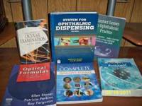 I have the following books for sale that I used at