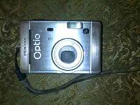 An Optio s40 X3-08 digital camera in great condition