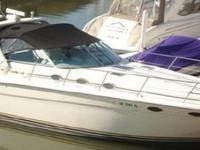 Description 1995 37' Sea Ray Express Cruiser -- FRESH
