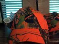 New Orange and camo hunting hats make offer fave about