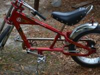 i have 4 Orange County Chopper Sting Ray Bicyles that