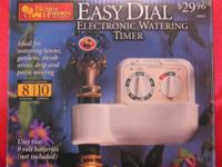 Orbit Easy Dial Electronic Sprinkling Timer Version