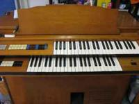 for sale nice organ old but works good