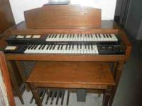 Hammond Organ it plays great asking 150.00 This organ