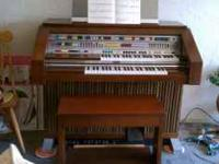 REDUCED TO SELL!!! We have a beautiful Lowrey's organ