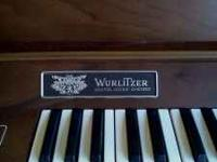 Werlitzer Organ with bench good condition Call