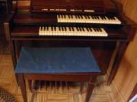 Organ for sale. Asking 250.00 OR BEST OFFER. Call .