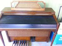 organ. In great condition, in ideal working order vey