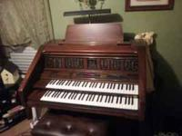 lowery organ nt-400 like new for more information call