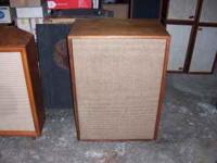 I have a large Schober LLS-10A external organ speaker.