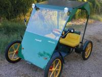 Organik Solaride ev Quadricycle