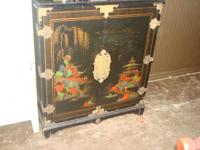 Beautiful Oriental Cabinet $150.00  Must See!!!   Come