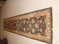 "Beautiful Oriental runner. Rare length, 2' 6"" X 13"";."