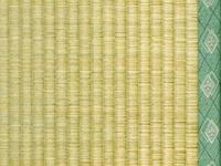 -Two Oriental Tatami Mat filled with the traditional