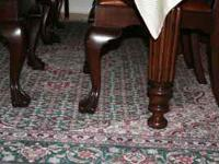 "Oriental rug for sale 92 1/2"" x 124 1/2"" for $150.00."
