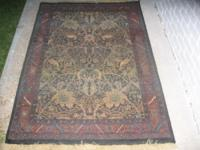 Great color WOVEN rug 4x6 $40 Cheap Dad Oreintal Rugs